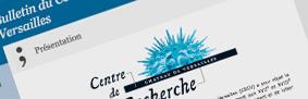Bulletin du Centre de recherche du château de Versailles